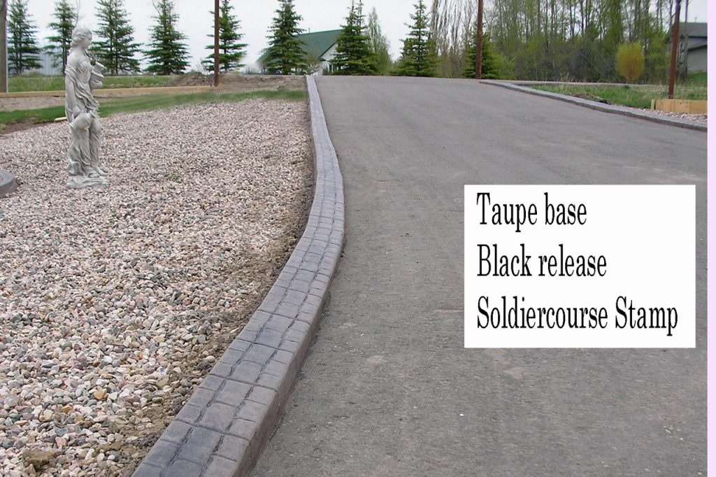 Base-  Taupe Release-  Black Stamp- Soldiercourse