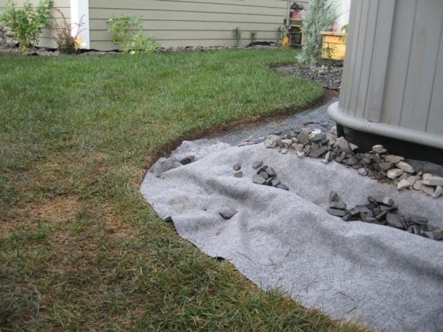 good ground prep for curbing