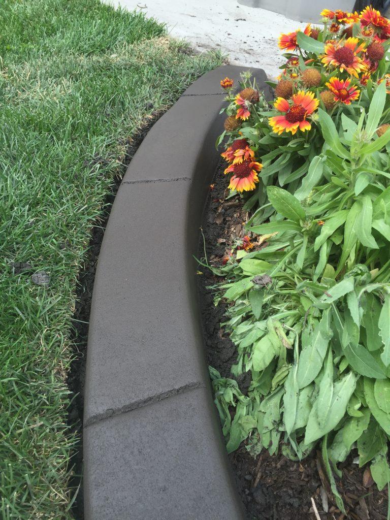 smooth finish curb