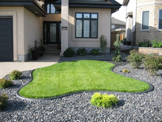 Outstanding design front yard