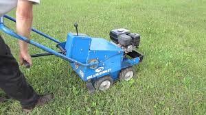 Blue Bird Sod-Cutter available to rent - too heavy and not very maneuverable