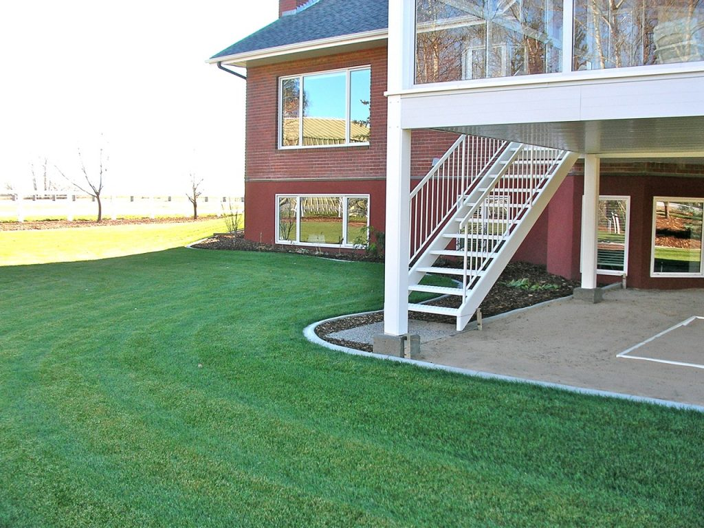 good design skips past mowing obstacles