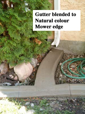 Profile- Gutter Base- Natural Release- none Stamp-none