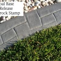 Base-  dark charcoal  Release- dark grey Stamp- castlerock curb
