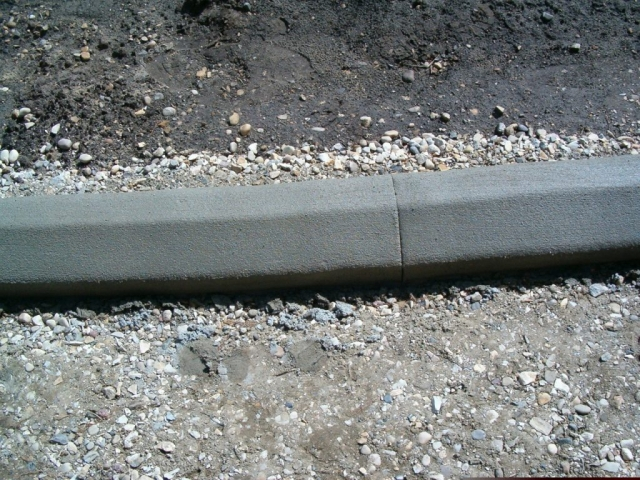 5X6 makes superior driveway edging