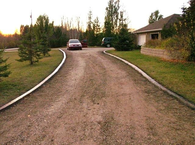 pretty decent long curb lines