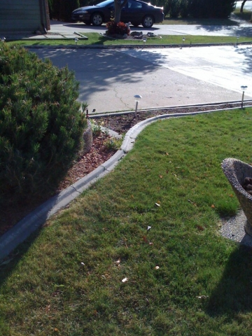 15 years old curb that we installed